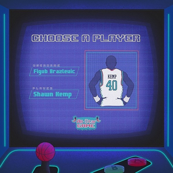 Figub Brazlevic - Shawn Kemp (The Reign Man) (Single + Video)