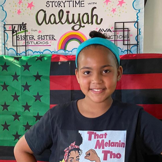 :CHILDREN: It's Storytime for the Entire Family! This Brilliant 10-Year-Old Is Reading to Children (and Parents, Too!) Every Night at 6:30 EST on Facebook Live! Join In and Be Inspired!