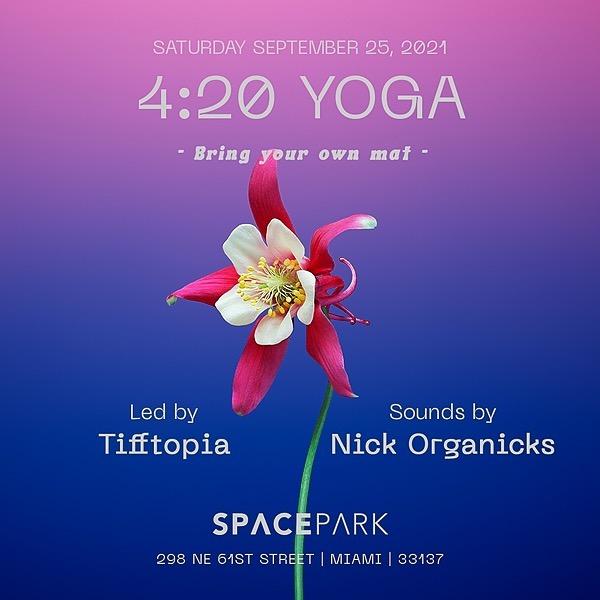 Tifftopia 420 Space Yoga  Link Thumbnail   Linktree