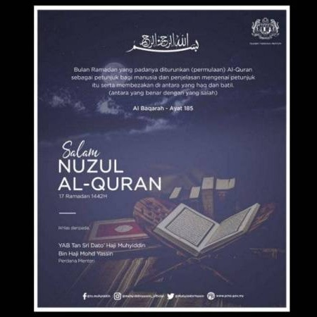 @sinar.harian Muhyiddin ajak umat Islam luang masa baca, fahami inti pati al-Quran Link Thumbnail | Linktree