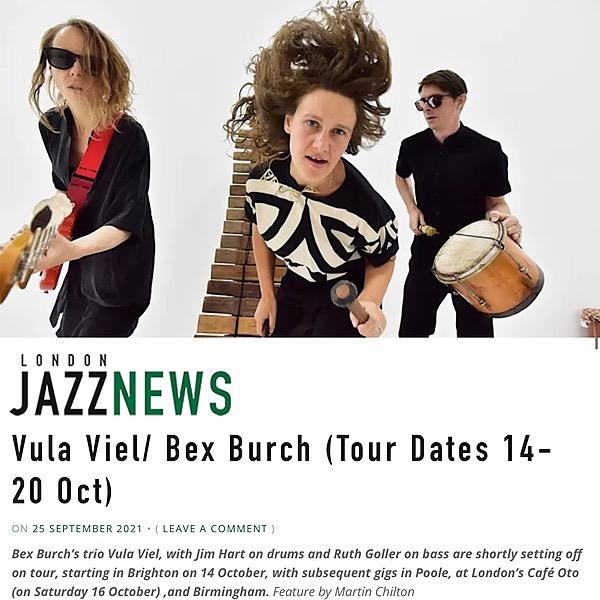 @bexburch LJN article - Vula Viel UK Tour Dates 14-20 October Link Thumbnail   Linktree
