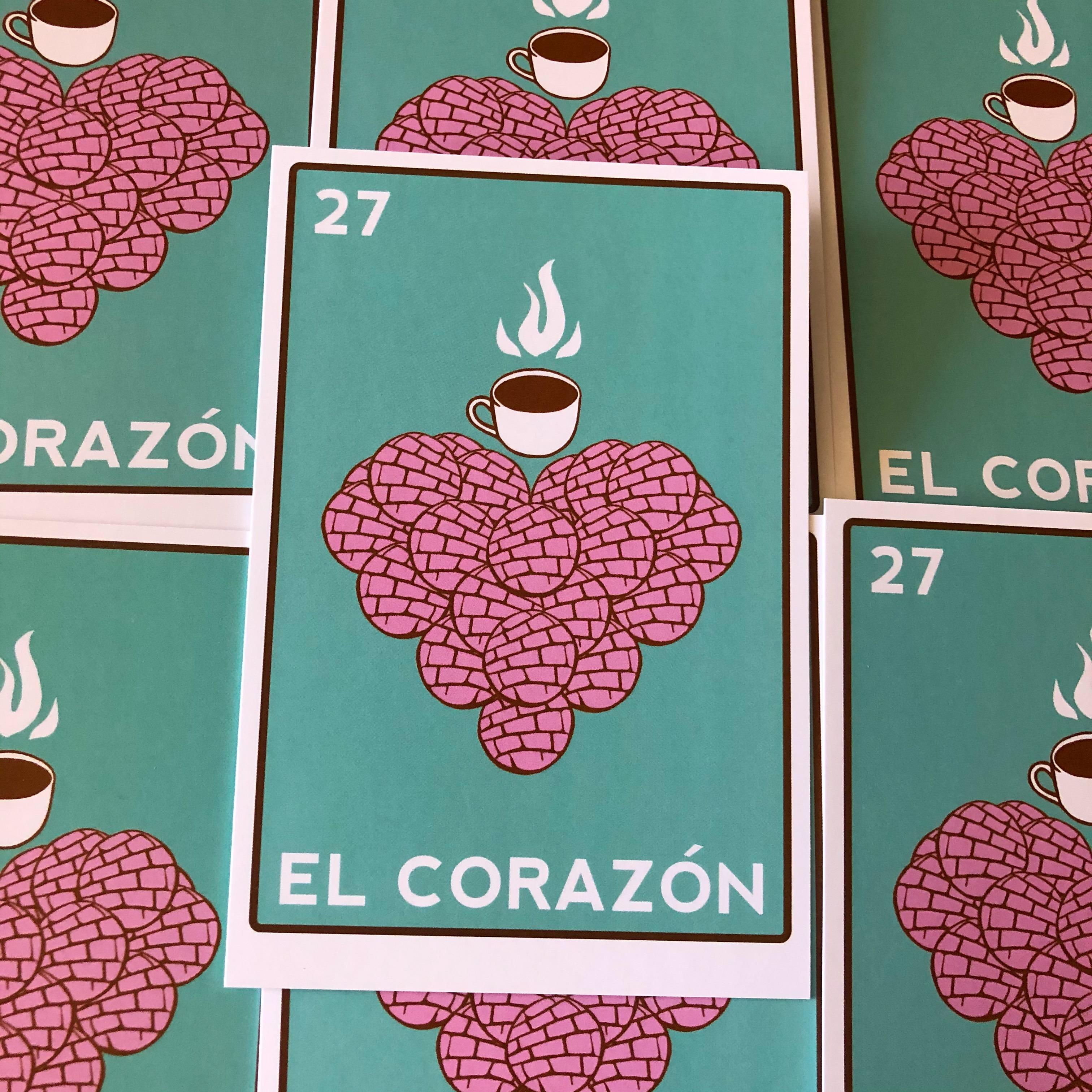 El Corazon de Pan Dulce Postcard Giveaway