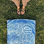 Sanuk x Surfrider Protect Your Happy Place Towel