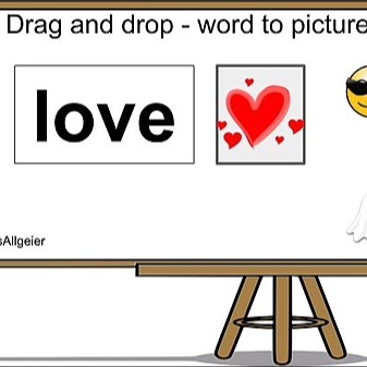 @RebeccaAllgeier Matching Pictures to Words - Drag and drop activity Link Thumbnail | Linktree