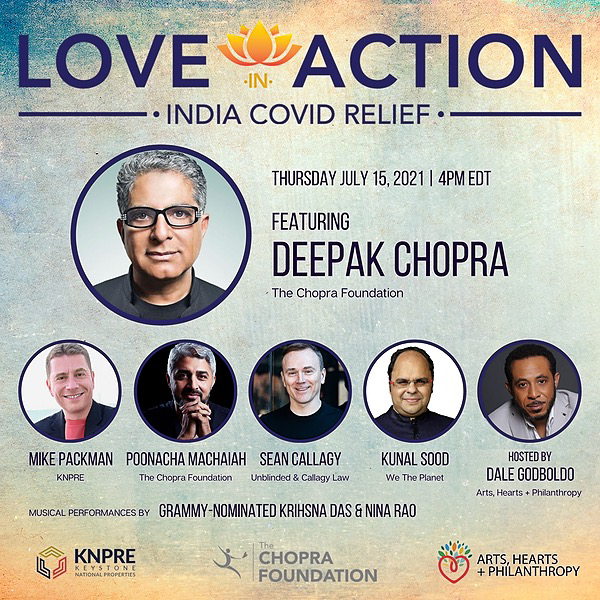 #AlwaysInTheClub | #MMC89 Love in Action with Deepak Chopra (Hosted by Dale Godboldo) Link Thumbnail | Linktree