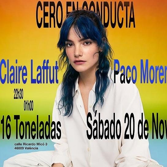 @cero.en.conducta Claire Laffut + Paco Moreno en Valencia (20.11, 16 toneladas)  Link Thumbnail | Linktree