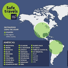 @wanderwithchelsea World Travel & Tourism Council Safe Travels Stamp Link Thumbnail | Linktree