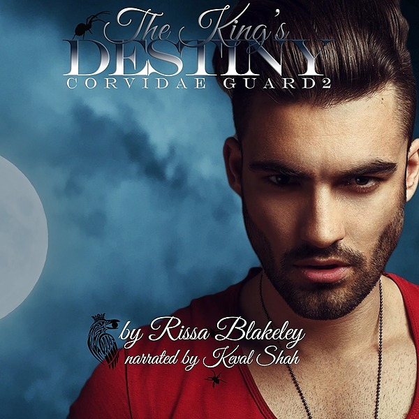 THE KING'S DESTINY (CORVIDAE GUARD #2) AUDIOBOOK - UK