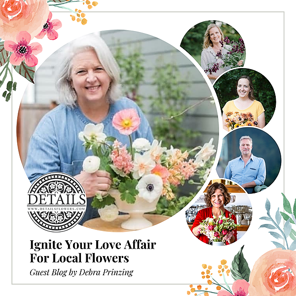 """Slow Flowers Channels & Events READ: """"Ignite Your Love Affair with Local Flowers"""" on Details Flowers' Blog Link Thumbnail   Linktree"""