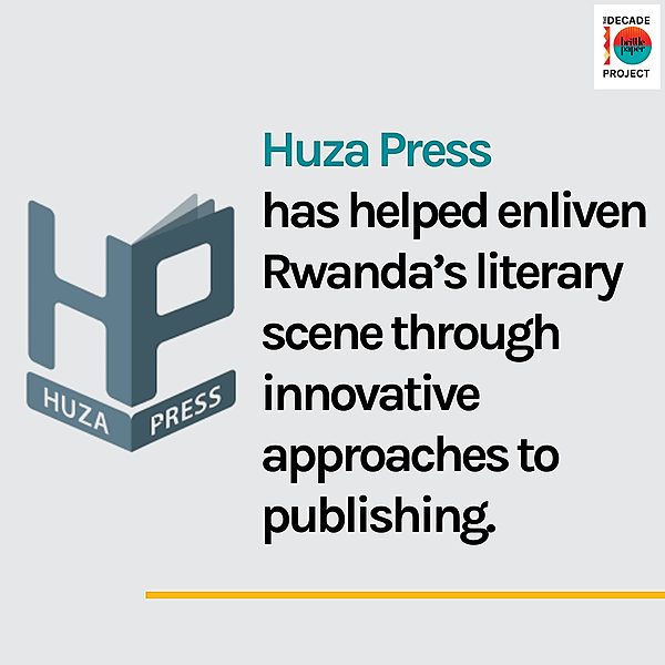 Huza Press is Changing Rwanda's Literary Landscape Through Community Building