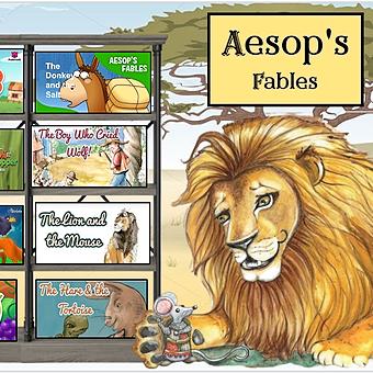 Miss Hecht Teaches 3rd Grade Aesop's Fables Link Thumbnail | Linktree