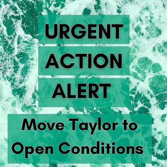@payitbackuk URGENT ACTION: Move Taylor to Open Conditions  Link Thumbnail | Linktree