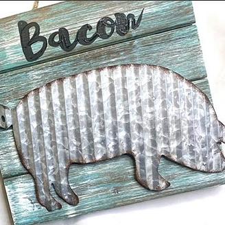Art & Grace Wood Pallet Pig or Rooster Tutorial! (video on FB) Link Thumbnail   Linktree