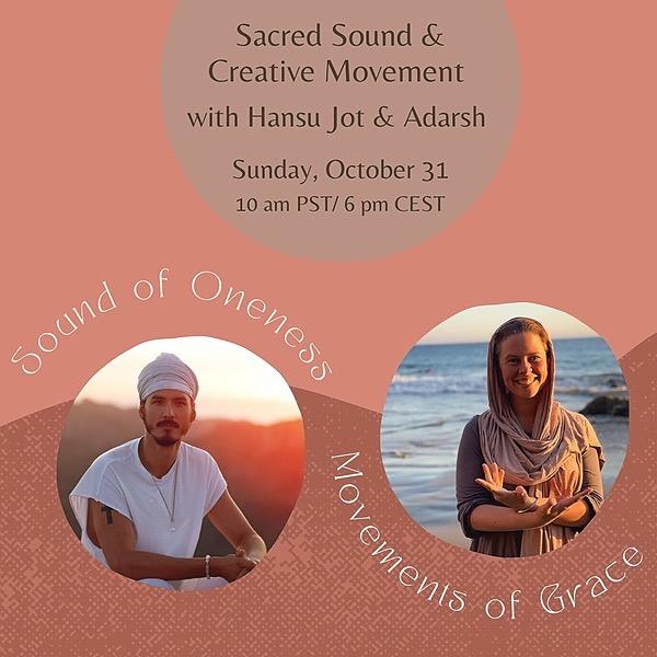 @HANSUJOT Sacred Sound & Creative Movement Link Thumbnail | Linktree