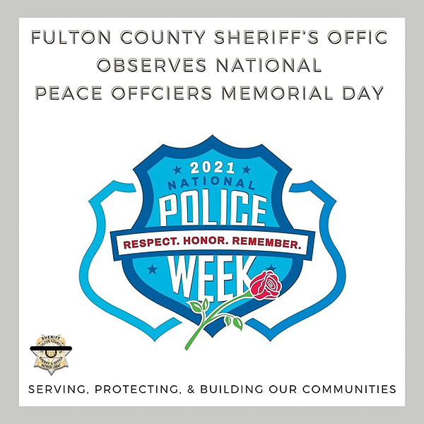 Fulton County Sheriff National Peace Officers Memorial Day  Link Thumbnail   Linktree