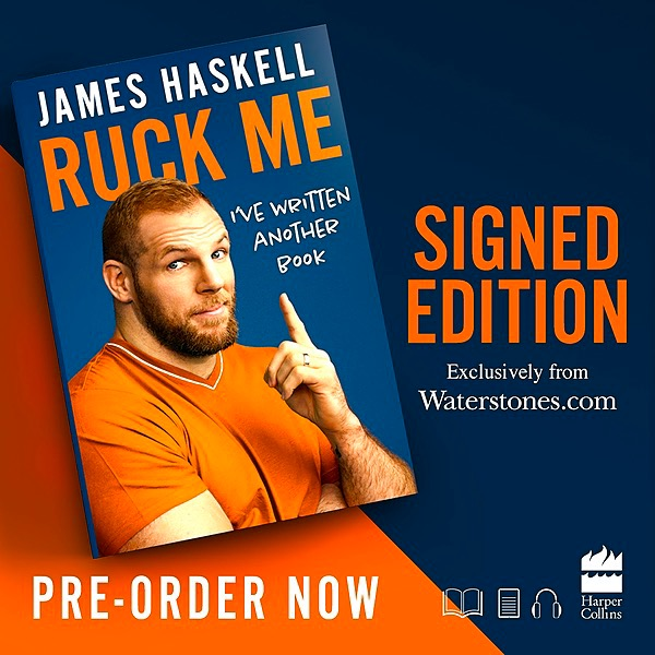 RUCK ME - Waterstones Signed Copy