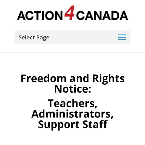 @VaccineChoiceCA Support for Teachers, Admins and Support Staff Link Thumbnail | Linktree