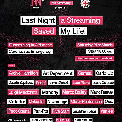 """Mr. Afterparty Presents """"Last Night a Streaming Saved My Life"""" 