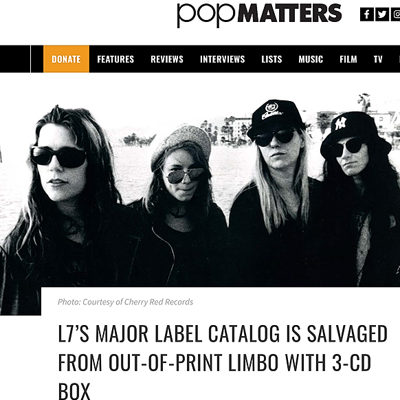 Review in  POP MATTERS