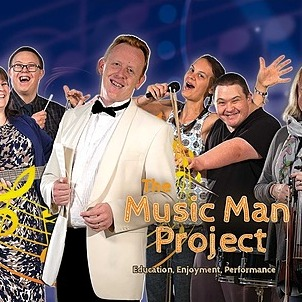 The Music Man Project Website Link Thumbnail | Linktree