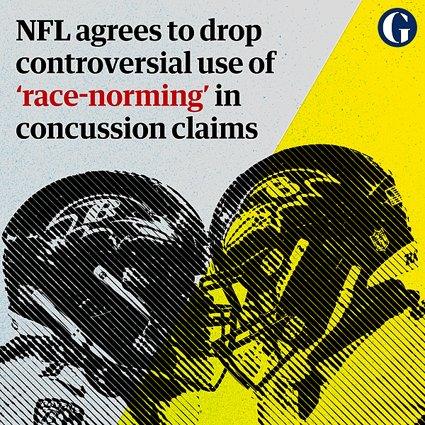 @guardian NFL to stop controversial use of 'race-norming' in brain trauma settlements Link Thumbnail | Linktree
