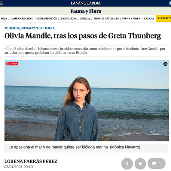 La Vanguardia Newspaper Read the Interview