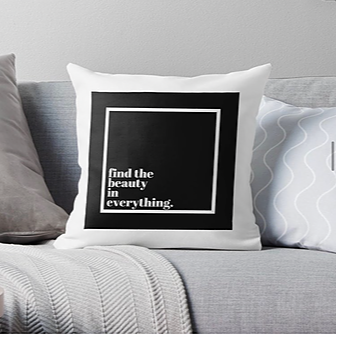 findthebeauty Find The Beauty In Everything Pillow Link Thumbnail   Linktree