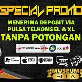 Deposit Pulsa Tanpa Potongan (museumbolaa) Profile Image | Linktree