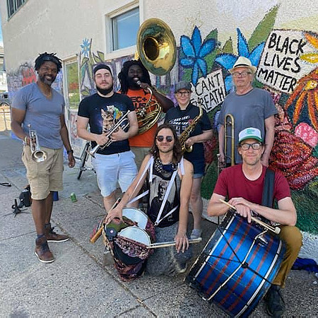 Willow Waters Brass Solidarity [George Floyd Square solidarity brass band] Link Thumbnail   Linktree