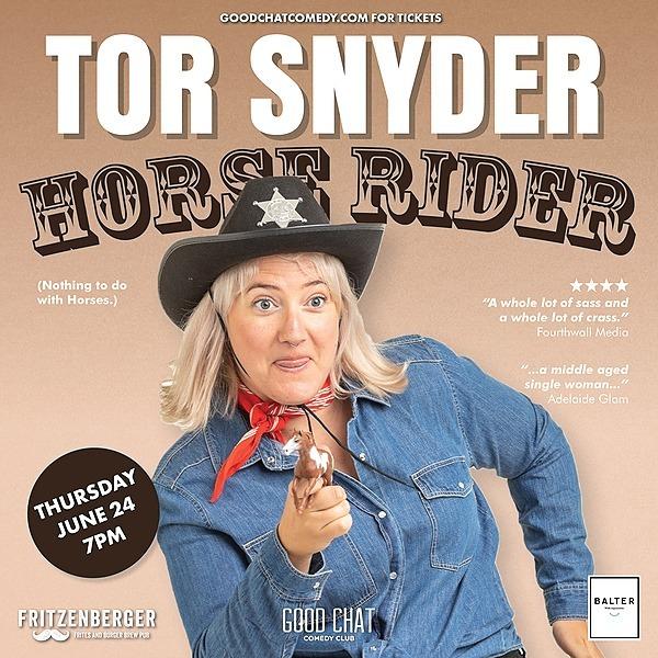 Get tickets to Tor Snyder | Horse Rider [June 24]