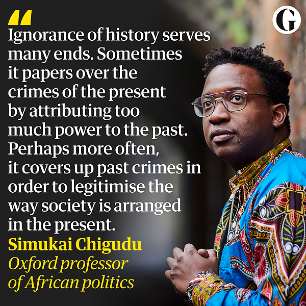 'Colonialism had never really ended': my life in the shadow of Cecil Rhodes