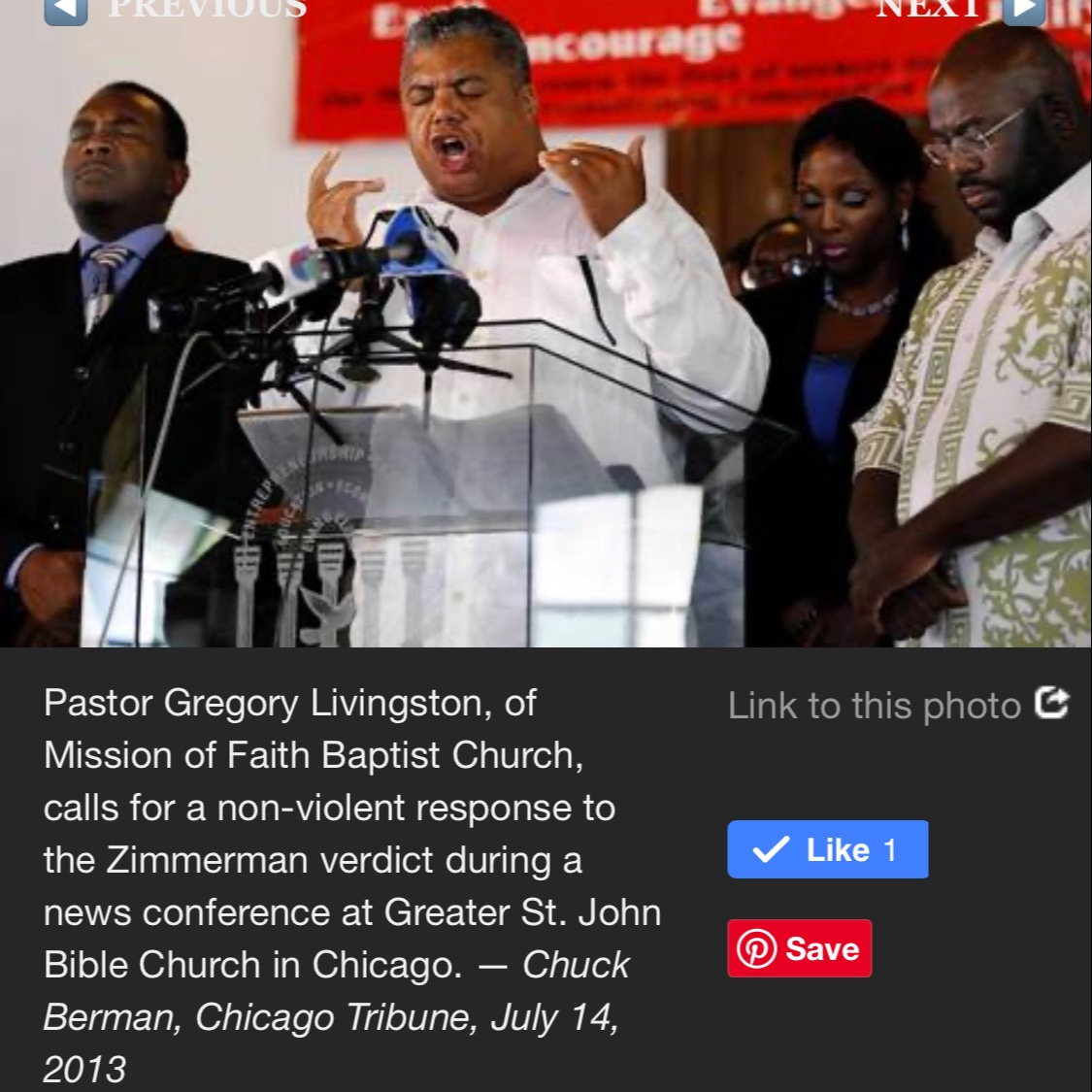 Rev. Gregory Seal Livingston Trayvon Martin: Pre-Rally Prayer for Justice & Peace Link Thumbnail | Linktree