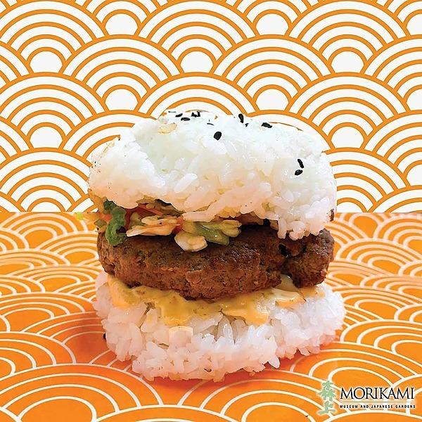 Rice Burger Recipe 🍚🍔😋