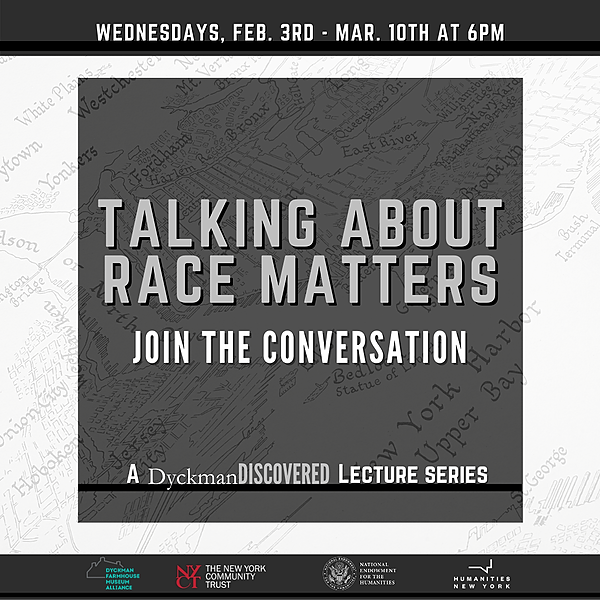 *EVENTS* Talking About Race Matters Lecture Series