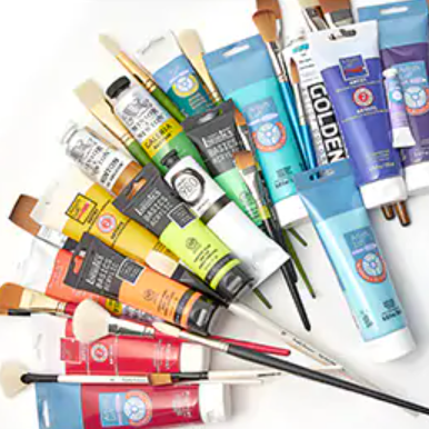 Art & Grace Art supplies on SALE at Michaels Link Thumbnail   Linktree