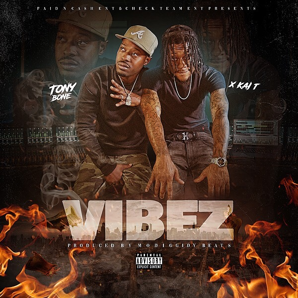 Spotify Tony Bone X Kai T Vibez EP