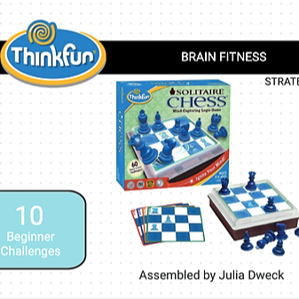 ThinkFun Solitaire Chess *Brain Fitness