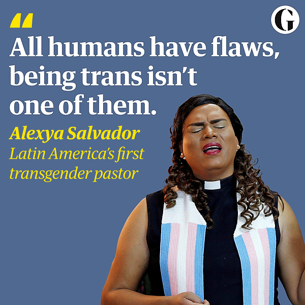 @guardian Brazil's first transgender pastor: 'All humans have flaws, being trans isn't one of them' Link Thumbnail   Linktree