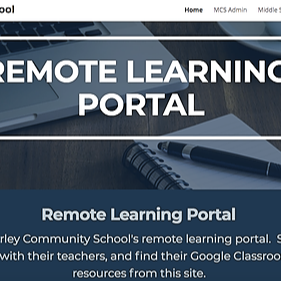 MCS Remote Learning Portal