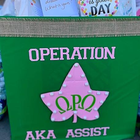 Blog: Community Partner Spotlight: The Ladies of the Omega Rho Omega Chapter of Alpha Kappa Alpha Sorority, Inc.
