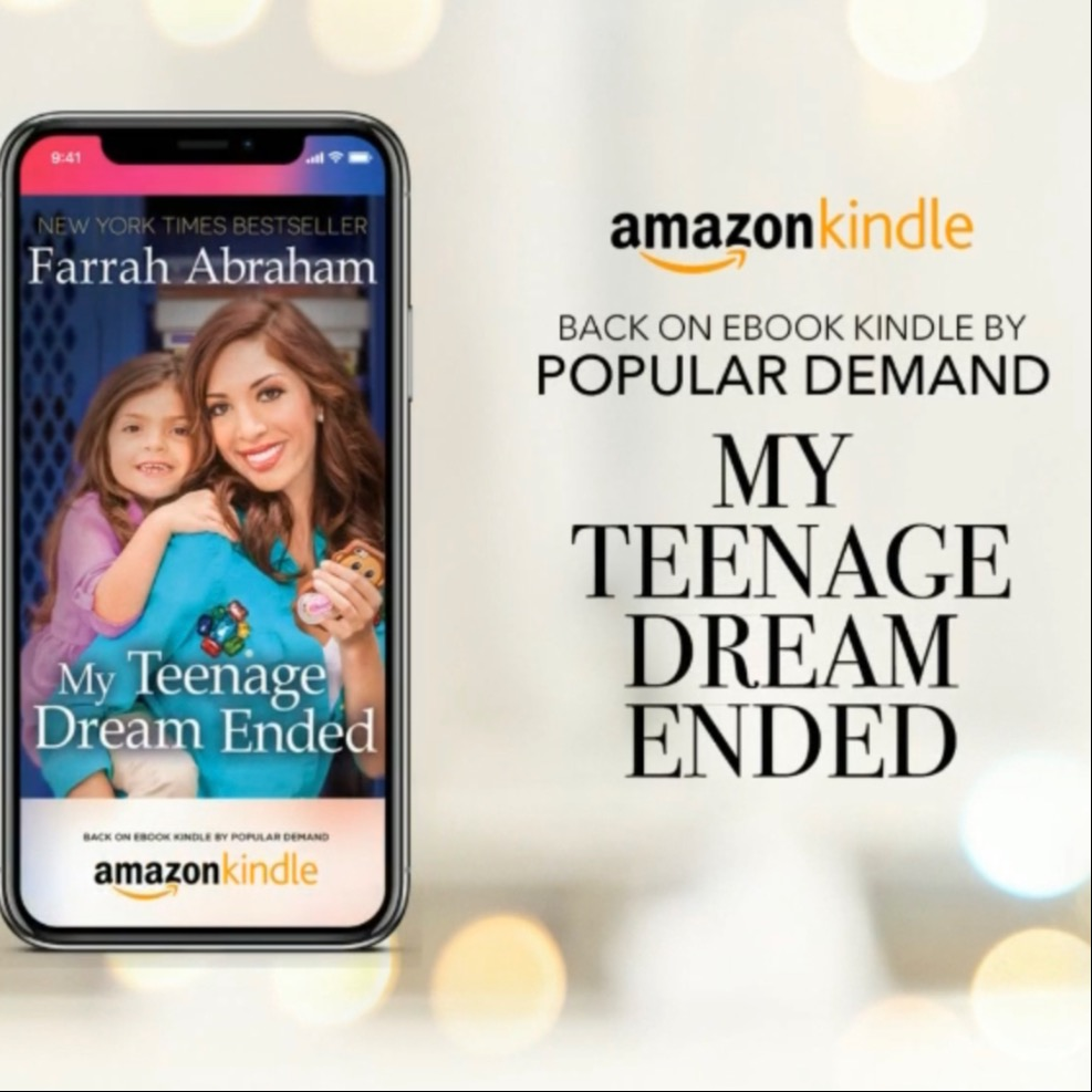 READ MY TEENAGE DREAM ENDED E-BOOK NOW 📚