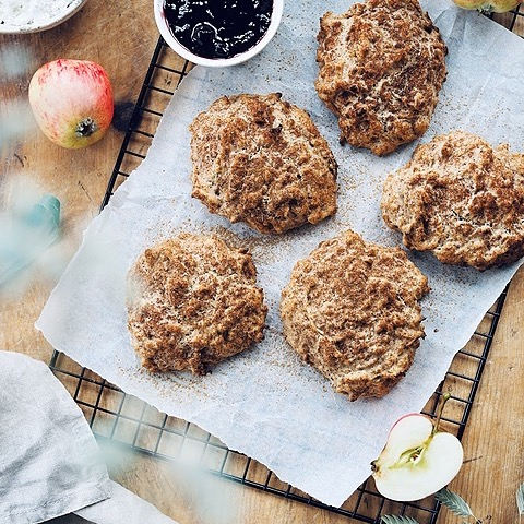 ceciliafolkesson.se Glutenfria äppelscones  Link Thumbnail | Linktree