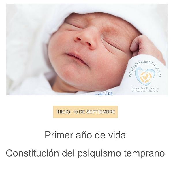 """@Psicologiaperinatalargentina Curso SEPTIEMBRE: """"PRIMER AÑO DE VIDA Y PSIQUISMO TEMPRANO"""" Link Thumbnail   Linktree"""