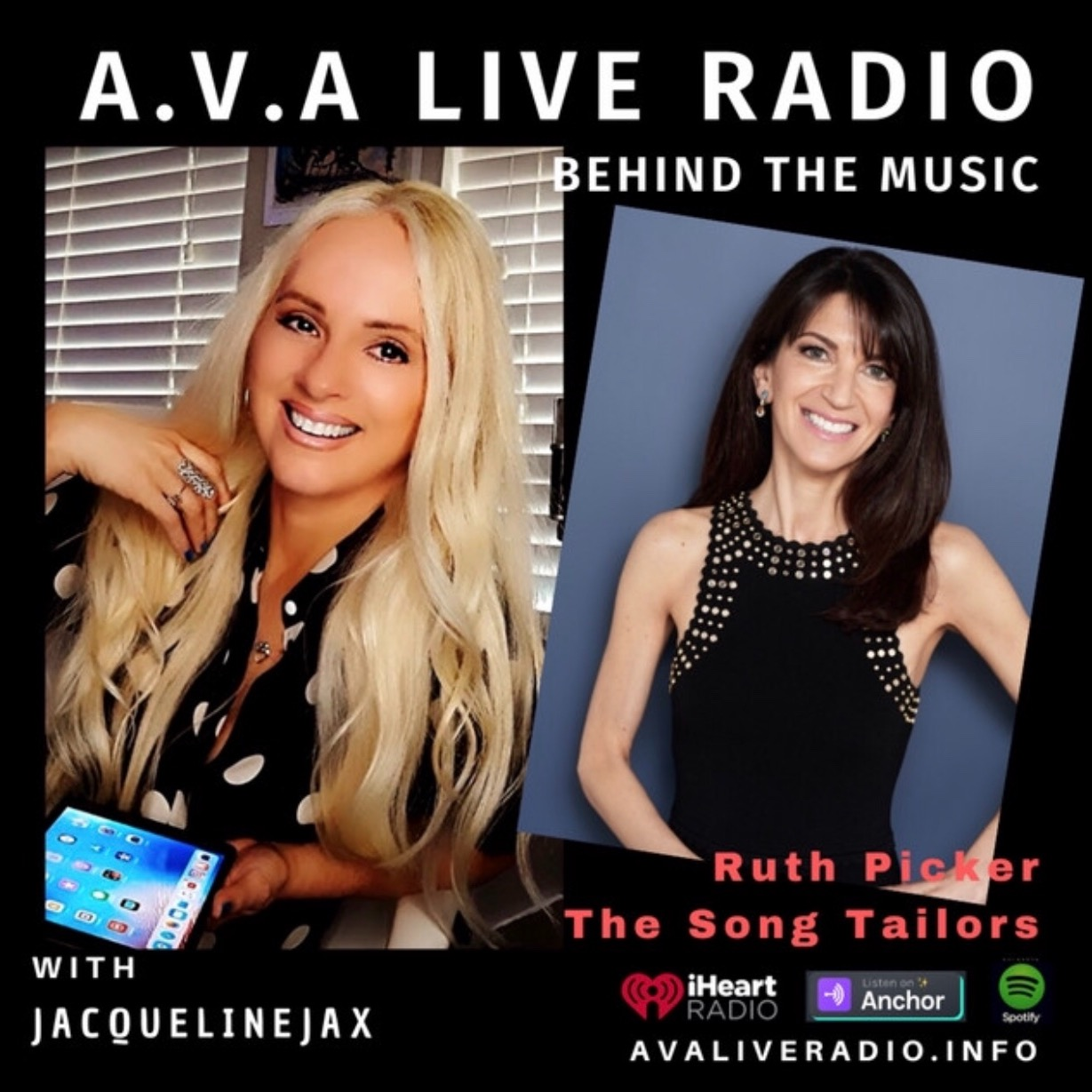 @thesongtailors AVA Live Radio interview Link Thumbnail | Linktree