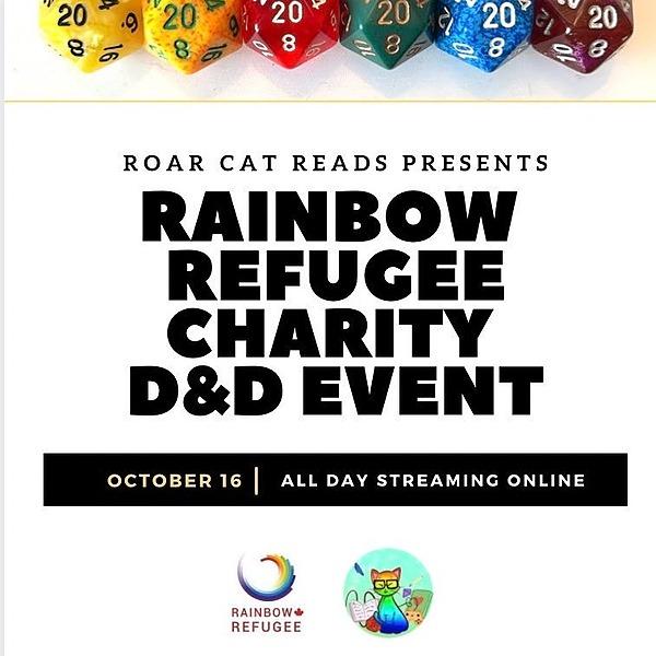 @ThatBearKat Rainbow Refugee Charity Livestream Event OCT 16, 2021! Link Thumbnail | Linktree