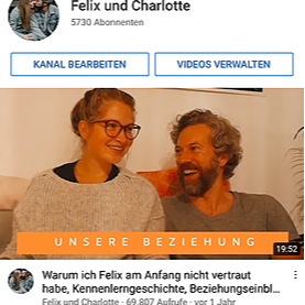 @charlotteweise YouTube Felix und Charlotte Link Thumbnail   Linktree
