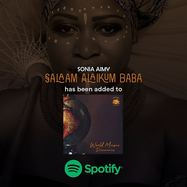 """@sonia_aimy Listen to """"Salaam Alaikum Baba"""" on the """"World Music Discoveries"""" playlist! Link Thumbnail   Linktree"""
