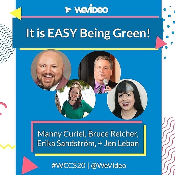 Join us for a FREE WeVideo Summit!  #WCCS20  July 28th to 30th