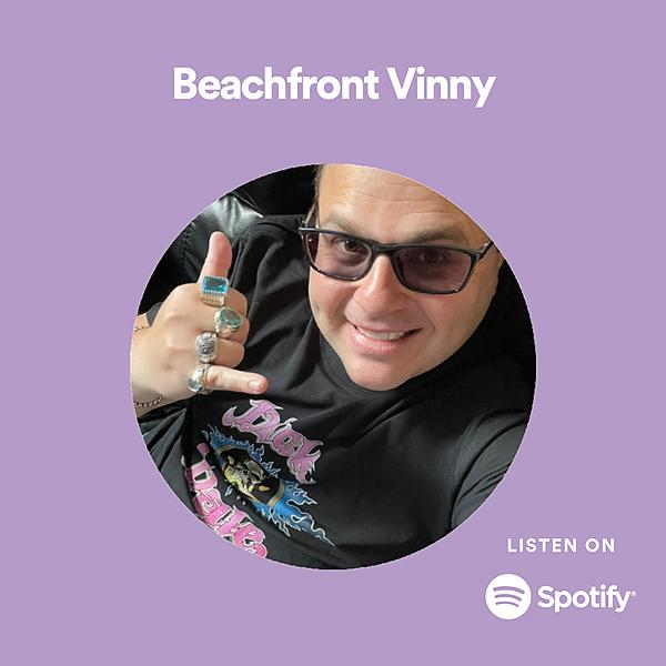 Beachfront Vinny Spotify Link Thumbnail | Linktree
