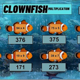 Miss Hecht Teaches 3rd Grade Clownfish Multiplication Link Thumbnail | Linktree